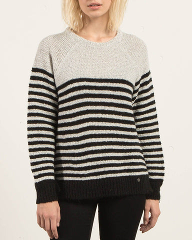COLD DAZE SWEATER STAR WHITE