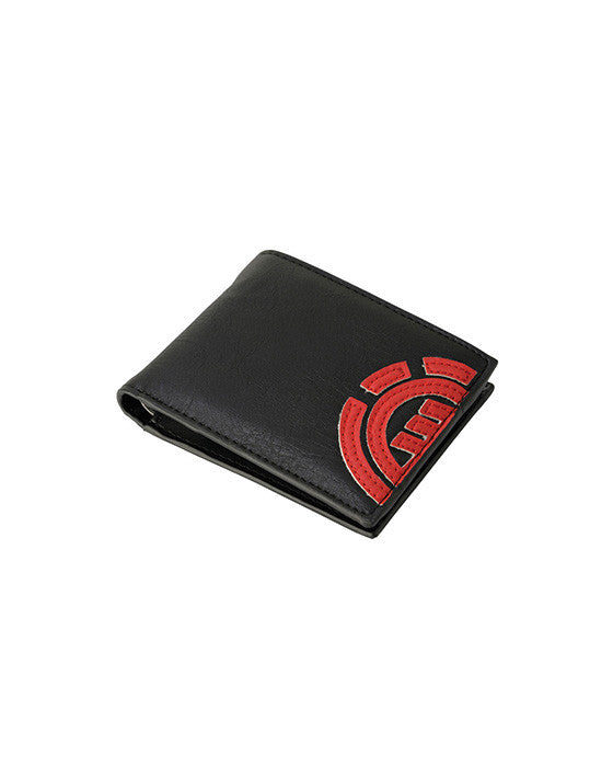 Porte-monnaie ELEMENT DAILY WALLET FIRE RED