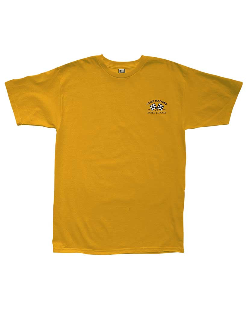T-shirt LOSER MACHINE DAYTONA GOLD