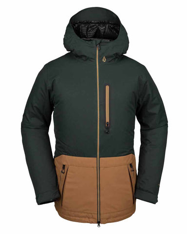 DEADLY STONES INSULATED JACKETS - DARK GREEN
