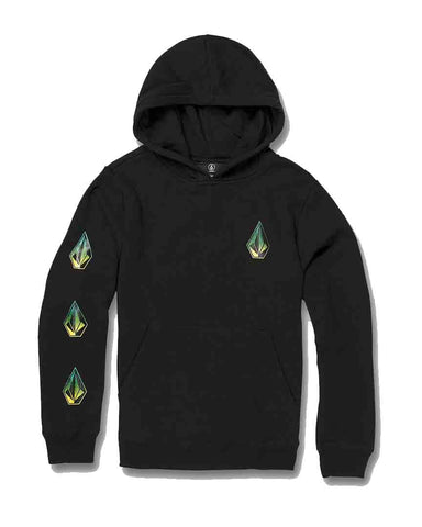 DEADLY STONES HOODIE BIG BLACK BOYS