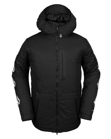 DEADLY STONES INSULATED JACKET - BLACK