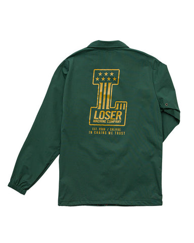 DEALERSHIP COACH JACKET FOREST GREEN