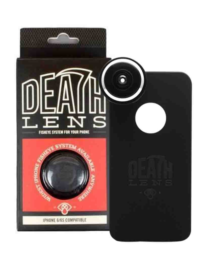 Camera et lentille DEATH LENS IPHONE 6/6S FISHEYE LENS RED