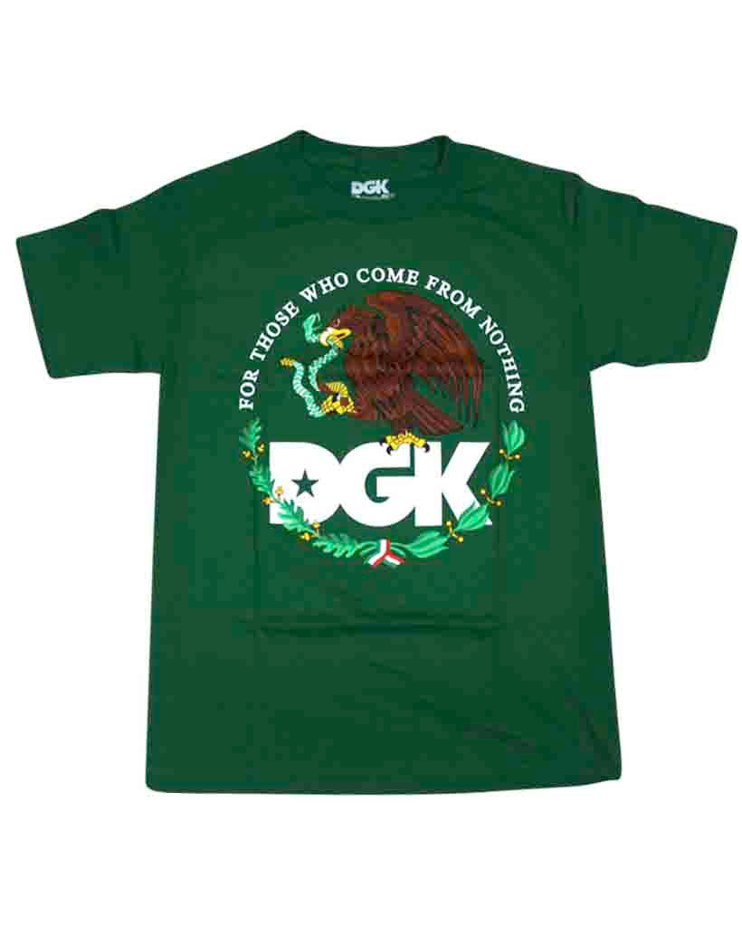 DGK T-shirt YOUTH FAMILIA KELLY GREEN