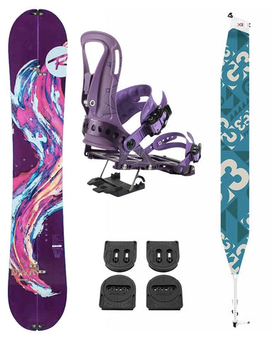 DIVA 152 + VOILE PUCKS + G3 SKIN +SPARK ARC BINDINGS (XS/S) 2020