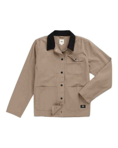 DRILL CHORE JACKET MILITARY KHAKI