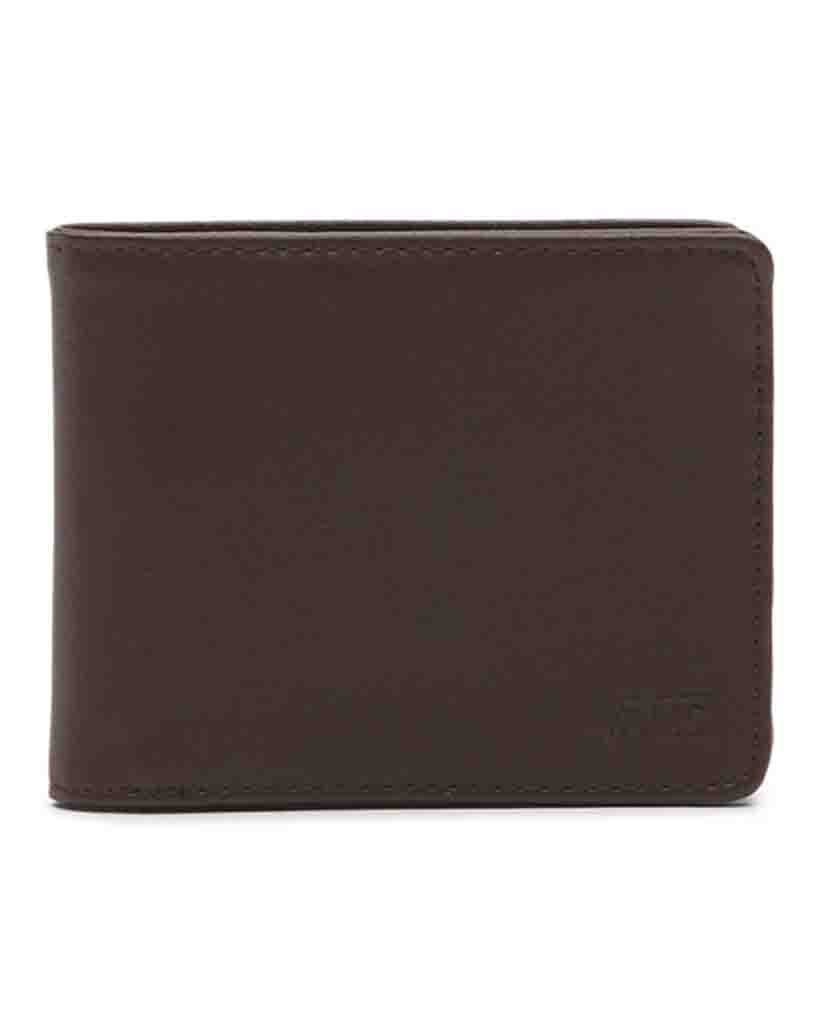 Porte-monnaie VANS DROP V BIFOLD DARK BROWN