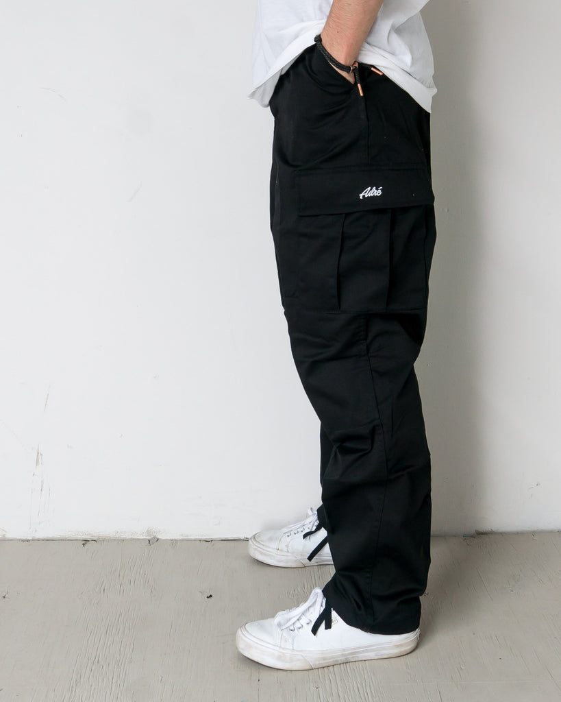 Cargo pants ADRENALINE ADRE CARGO RELAX FIT BLACK