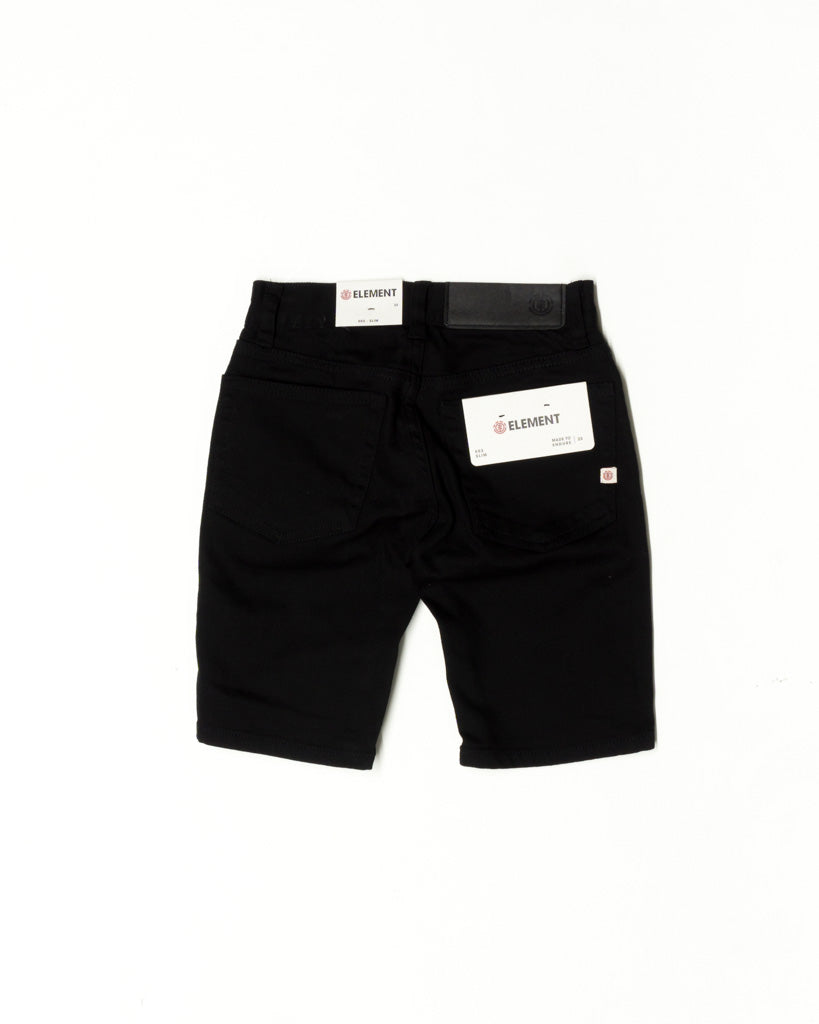 Short ELEMENT E02 BOYS FLINT BLACK