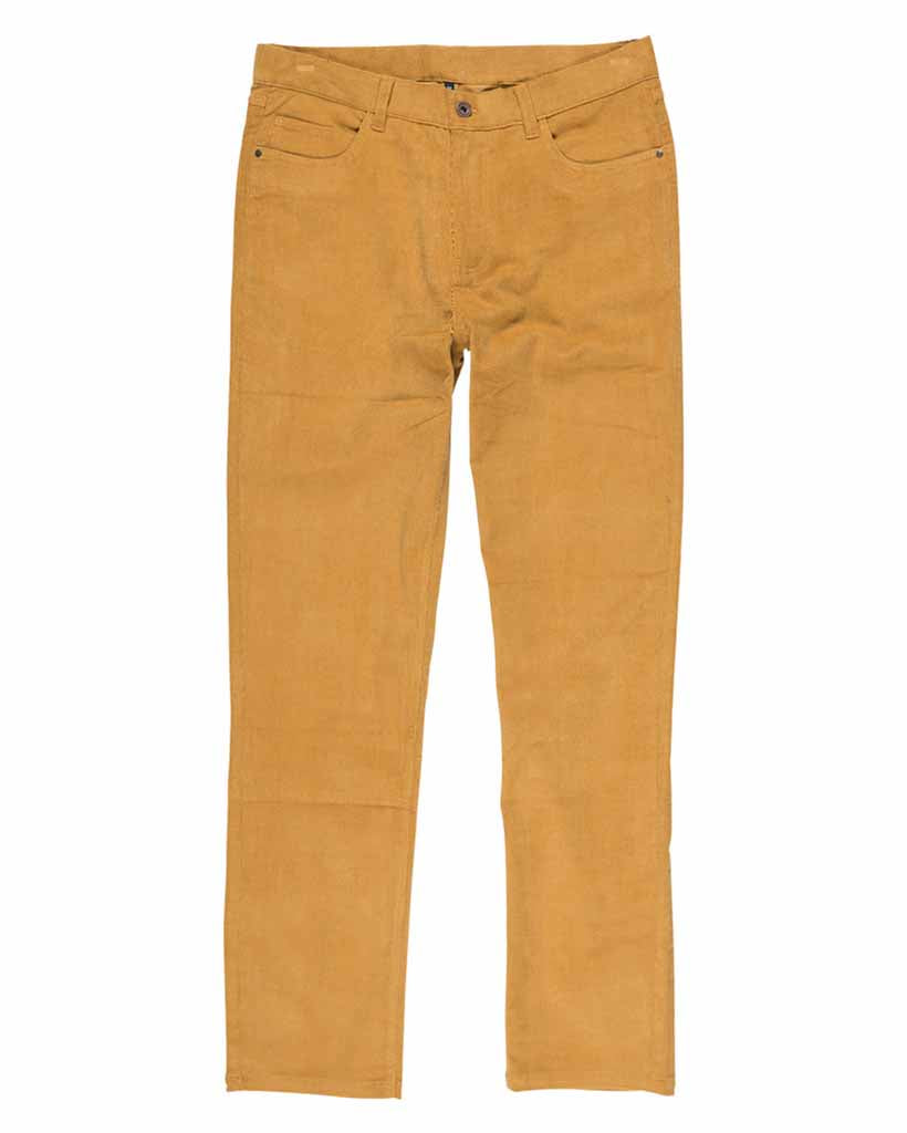 Trousers ELEMENT E03 CORDUROY GOLD BROWN