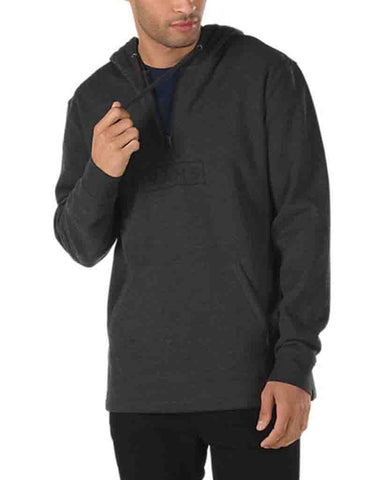 EASY BOX QUARTER BLACK ZIP HEATHER