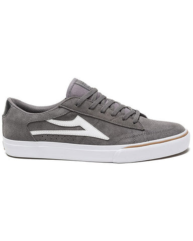ELLIS GREY WHITE SUEDE