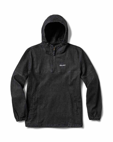 ENDEAVOR ANORAK DENIM BLACK