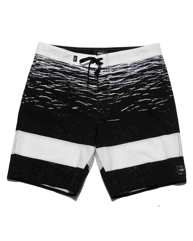 VANS ERA BOARDSHORT 18 YOUTH WHITE DARK WATER Boardshorts