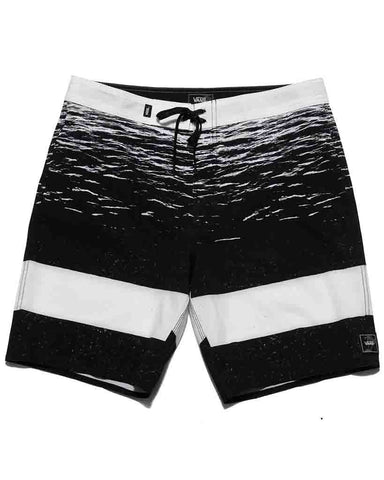 ERA BOARDSHORT 19 WHITE DARK WATER