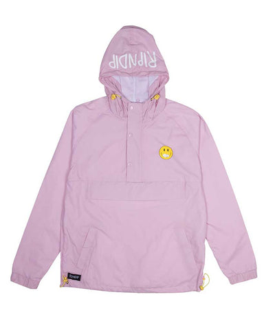 EVERTHING WILL BE OK ANORAK PINK