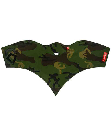 FACEMASK STANDARD | 10K SOFTSHELL WOODLAND CAMO