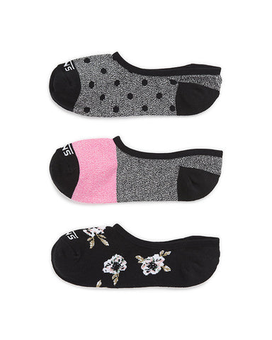 FALL FLORAL CANOODLE SOCKS 3 PACK