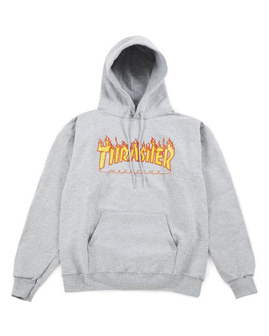 FLAME LOGO GRAY