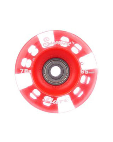 FLARE LED RED 65MM / 78A