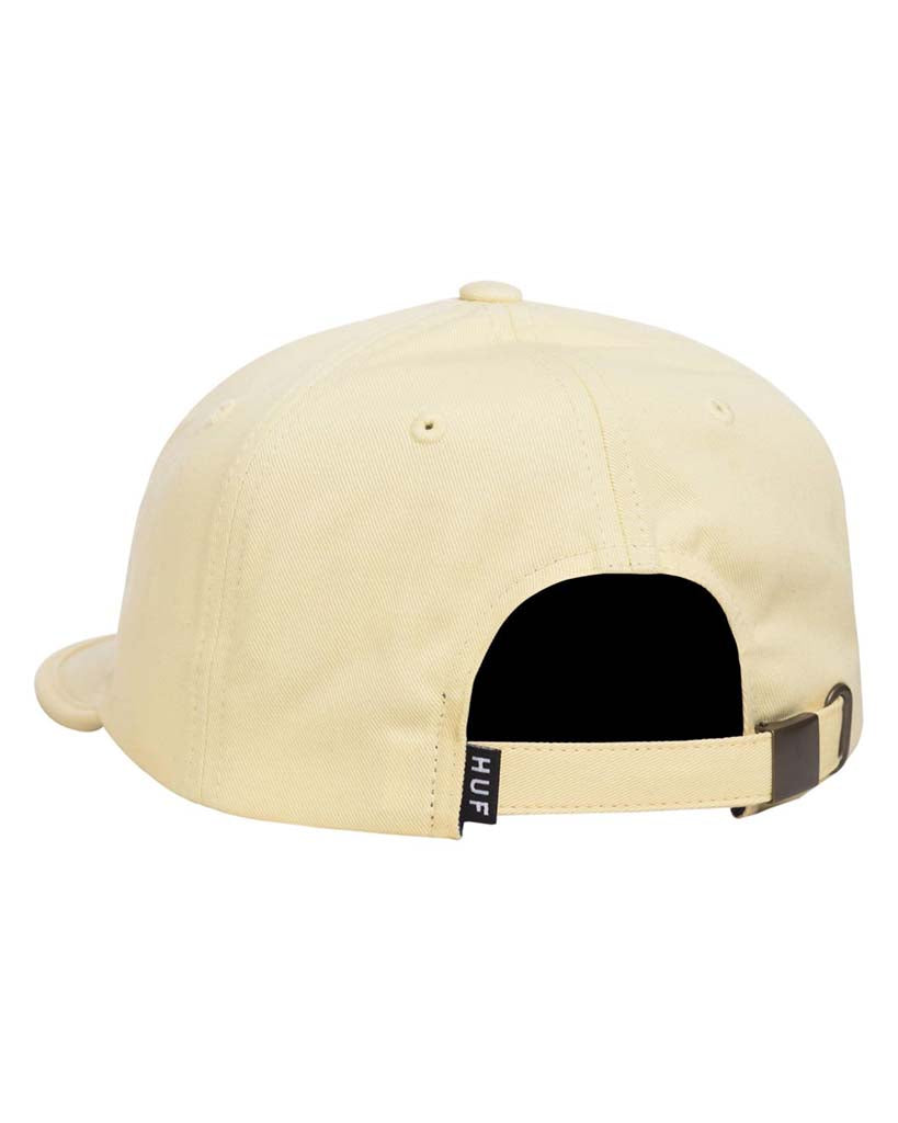 HUF CAP FORMLESS CLASSIC H 6PANEL BLACK