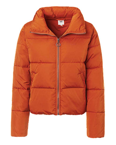 FOUNDRY PUFFER JACKETS MTE POTTERS CLAY