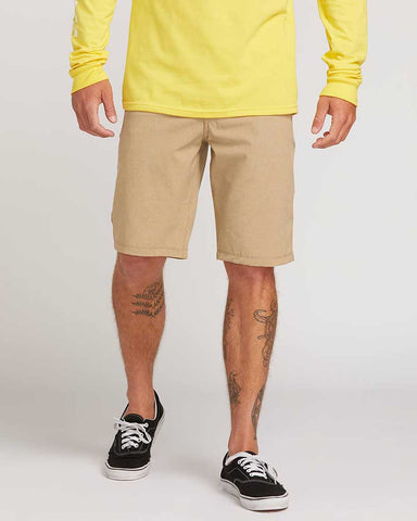 FRICKIN SURF N' TURF STATIC HYBRID SHORTS DARK KHAKI