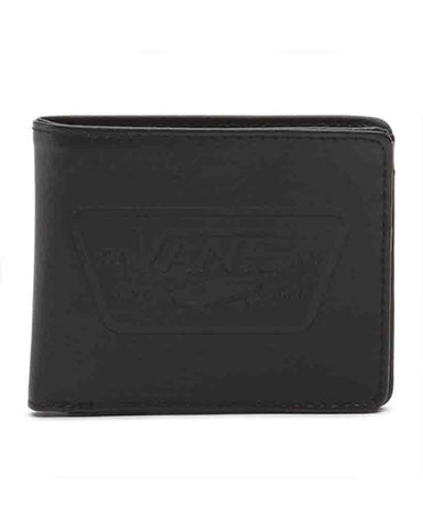 FULL PATCH BIFOLD WALLET BLACK