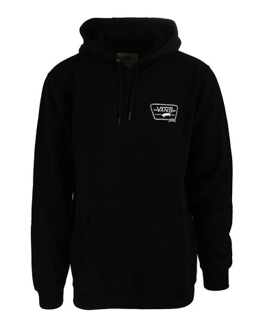 FULL PATCHED HOODIE BLACK