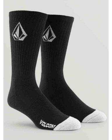 FULL STONE SOCK 3 BLACK PACK (9-12)