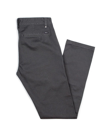 GRAIN CHINO SLIM FIT PANT WASHED BLACK