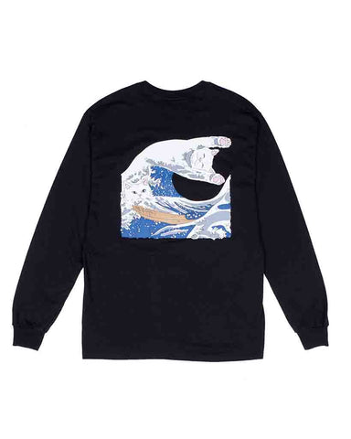GREAT WAVE LS BLACK