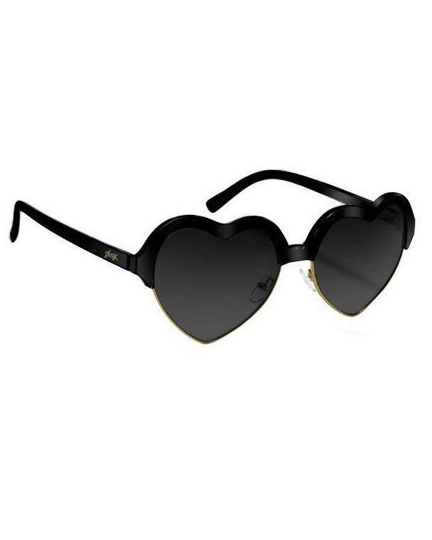 Lunettes soleil GLASSY SUNHATERS BLISS BLACK