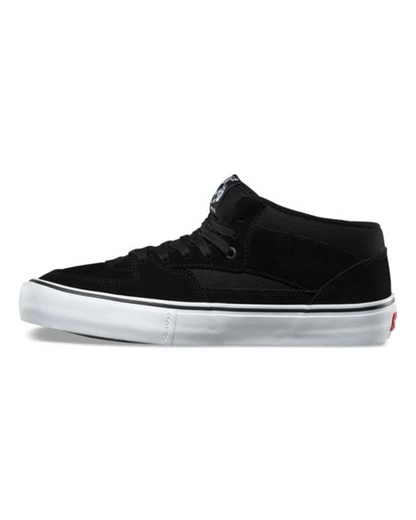 VANS HALF CAB PRO BLACK-BLACK-WHITE Shoes