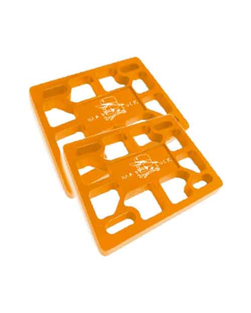 Accessoires de skate HARD LUCK 1/8 TEAM RISER PAD ORANGE
