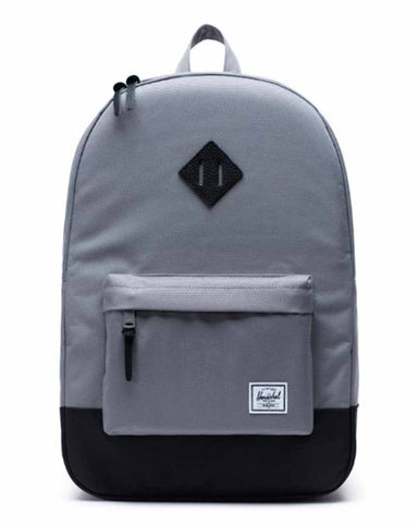 HERITAGE BACKPACK GREY-BLACK