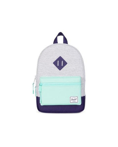 HERITAGE KIDS POLY/RUBBER LT GREY CROSS 9L