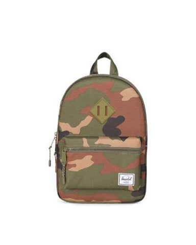 HERITAGE YOUTH POLY RBR WOODLAND CAMO 16L