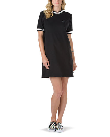 HIGH ROLLER TEE DRESS BLACK