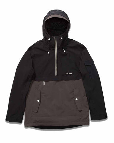 SCORES ANORAK JACKET BLACK-SHADOW