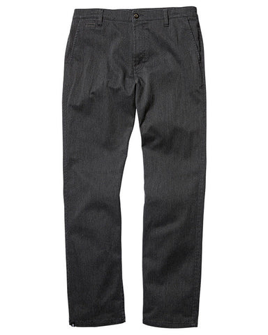 HOWLAND CHARCOAL HEATHER CHINO SLIM STRAIGHT