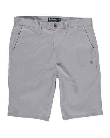 HOWLAND CLASSIC WK CHINO SHORT GREY HEATHER