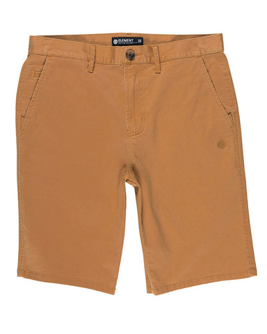 HOWLAND CLASSIC WK CHINO SHORT RUST BROWN