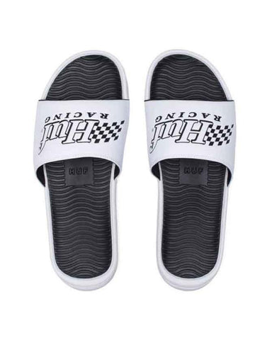 HUF SLIDE WHITE