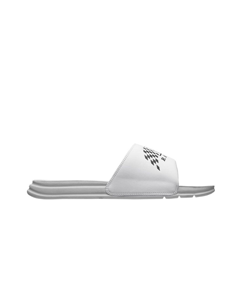 HUF HUF SLIDE WHITE Sandals