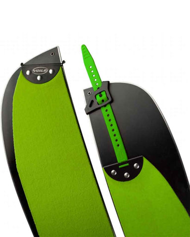 SAIL HYPER GLIDE SPLITBOARD SKINS WITH TAIL CLIPS
