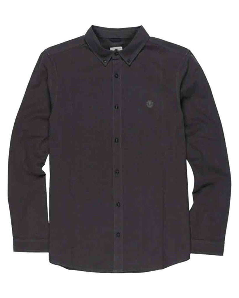 Chemise ELEMENT ICON CRISP OFF BLACK