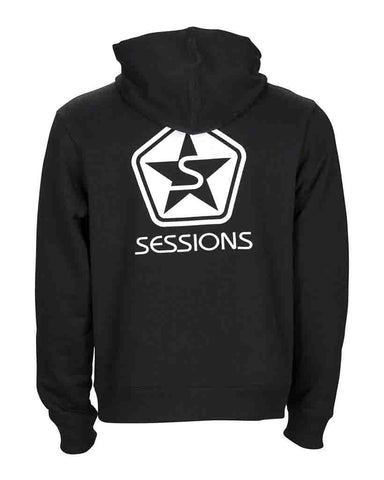 ICON PULLOVER HOODIE BLACK
