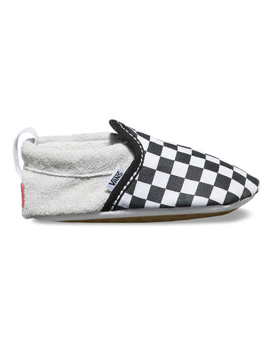INFANT SLIP-ON CRIB CHECKERBOARD